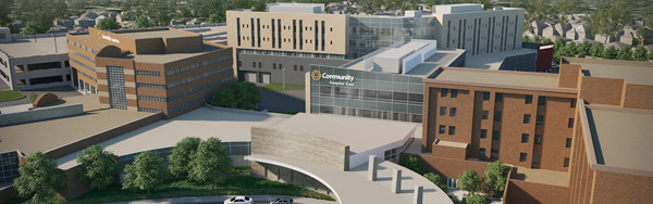 New CHE hospital rendering