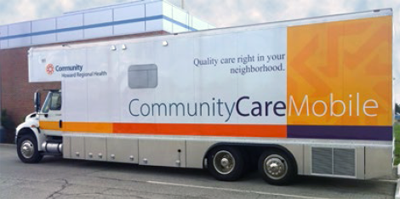 Community Care Mobile truck