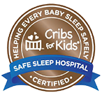 Cribs for Kids certification badge
