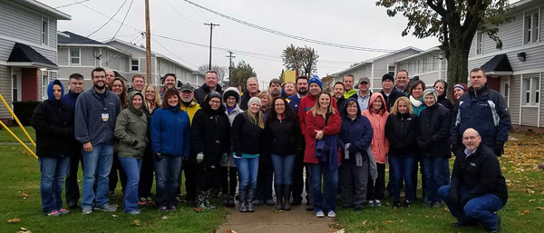 Community leaders service project in Kokomo, Indiana