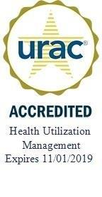 Community Health Direct is accredited for Health Utilization Management by URAC