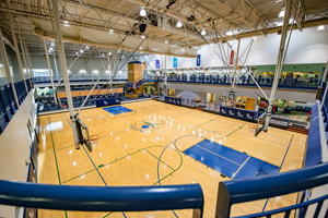 Healthplex basketball courts