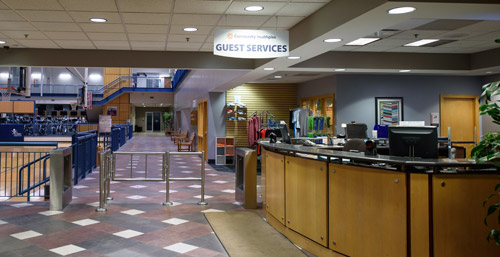 Healthplex guest services desk