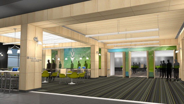 Community Howard Regional Health Student Commons at Ivy Tech Kokomo