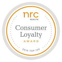 NRC Consumer Loyalty Top 100 badge