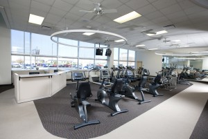 Pulmonary Rehab facility at Community Heart and Vascular