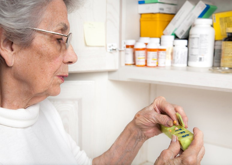 Store medications safely at home