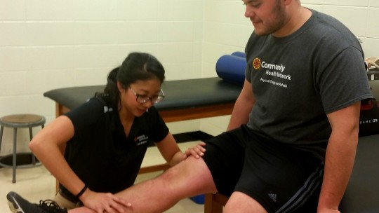 Caitlin Wong, MAT, ATC, and LAT Certified Athletic Trainer at Franklin Central High School