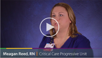 Meagan Reed, RN, progressive care unit